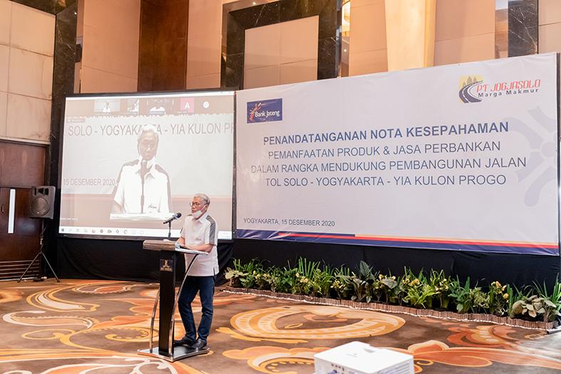 Kerjasama PT Jogjasolo Marga Makmur dan Bank Jateng