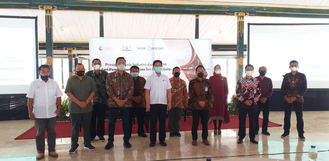 Diskusi Prospek Bisnis Industri & UMKM dari Proyek Jalan Tol Solo - Yogyakarta -NYIA Kulonprogo