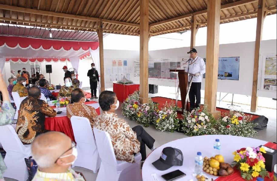 Sambutan dari Kepala Badan Pengatur Jalan Tol (BPJT), Bapak Danang Parikesit