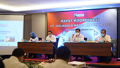 Rapat Koordinasi Internal PT Jogjasolo Marga Makmur