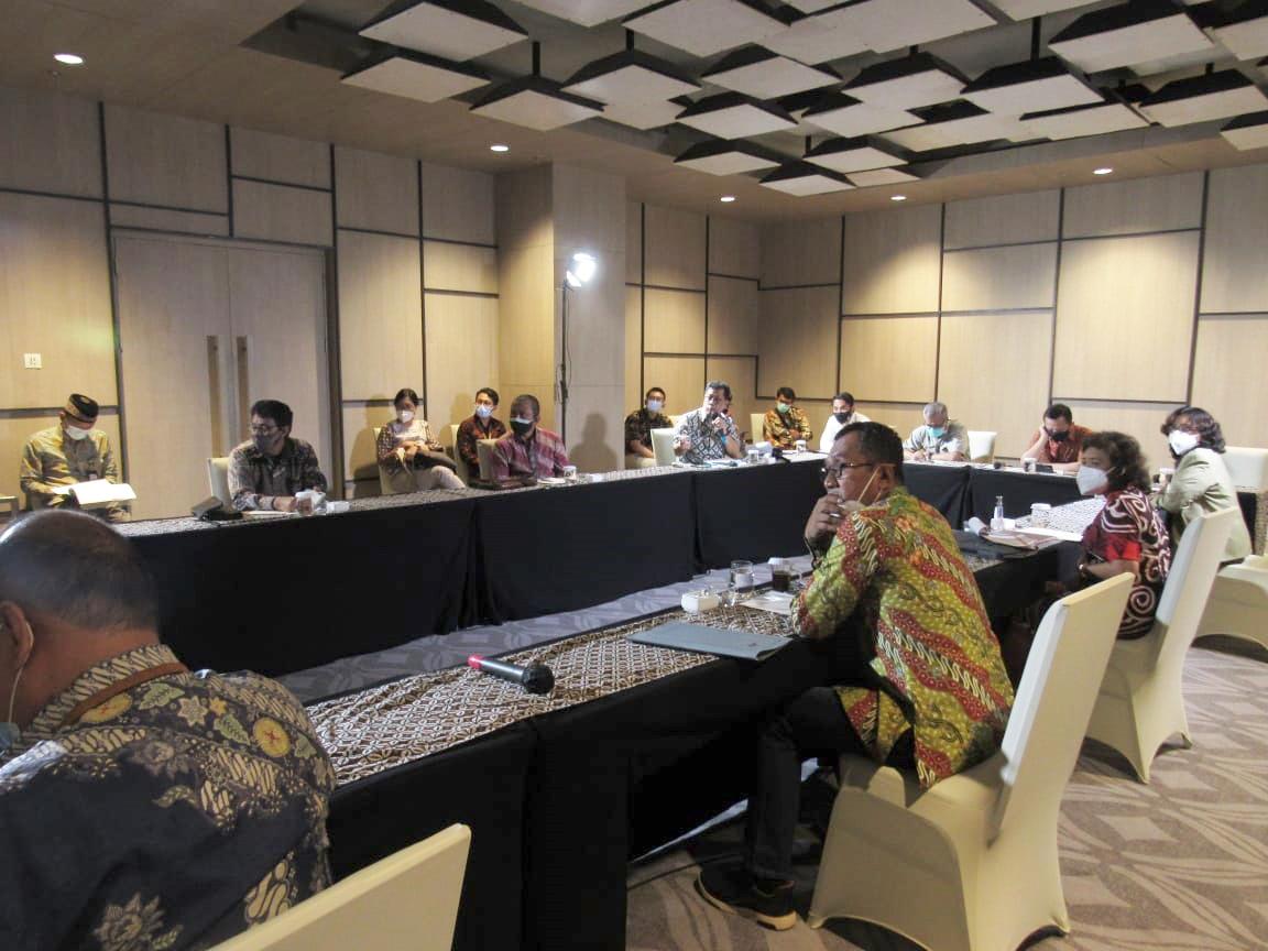 Rapat Koordinasi Progres Pengadaan Lahan Seksi 1 Jalan Tol Solo - Yogyakarta - NYIA Kulonprogo