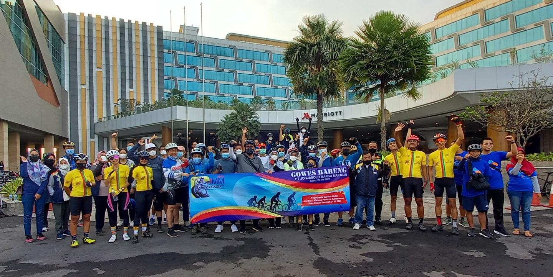 Gowes Bareng PT Jogjasolo Marga Makmur 2021