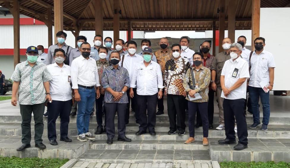 Kunjungan Menteri PUPR ke seksi 1 proyek Tol Solo-Yogya-NYIA Kulonprogo