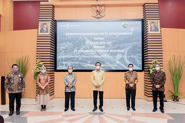 Bank BPD DIY-PT JMM Teken Mou, Pembangunan Tol Yogya-Solo Pacu Pertumbuhan Ekonomi